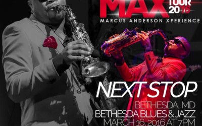 #DSEAccessGranted Ticket Giveaway: Marcus Anderson M.A.X. Tour – Maryland Fans!
