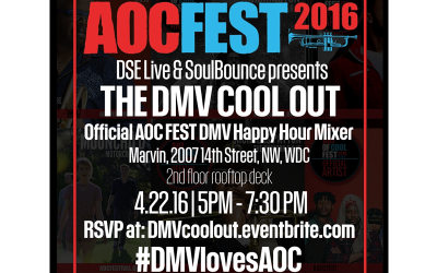 "The DMV Cool Out: Kicking off ""The Art of Cool Festival"",  hosted by DSE Live x SoulBounce DC!"