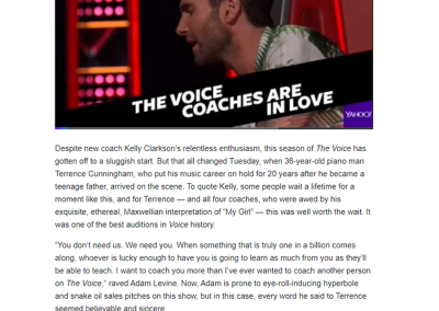 Have we already found the next winner of 'The Voice'?